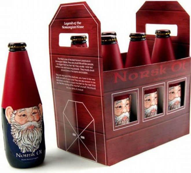 9-christmas packaging design bottle