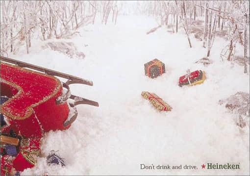 Heineken-Santa