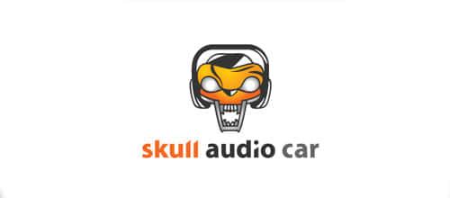 19-car-skull-logo
