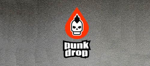 21-punk-skull-logo