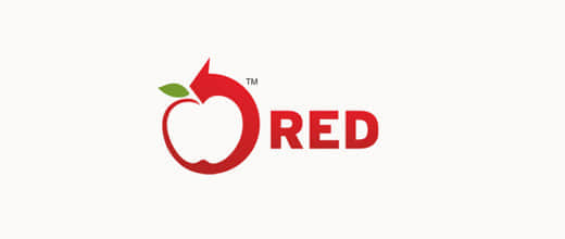 23-arrow-red-apple-logo