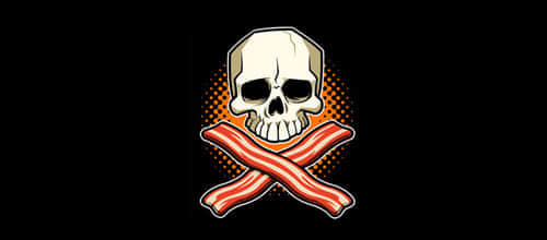 25-bacon-skull-logo