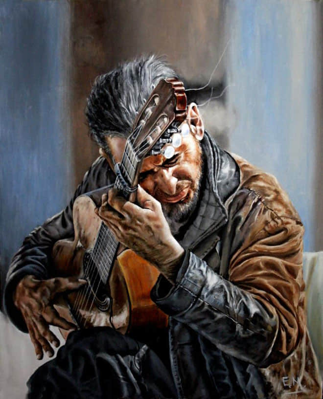 4-realistic-painting-musician