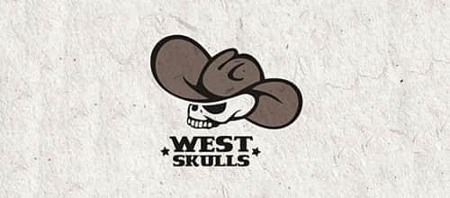8-west-cowboy-skull-logo