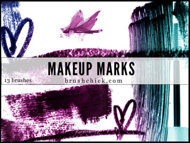 化妆粉刷式笔刷