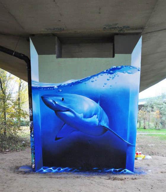 12个独特的街头创意幻想涂鸦欣赏