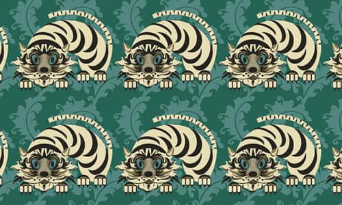 13-tiger-free-animal-reapet-seamless-pattern