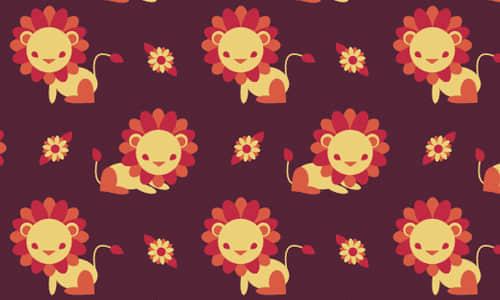 14-lion-free-animal-reapet-seamless-pattern