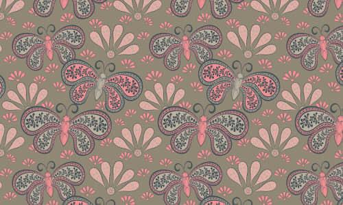 27-pink-butterlfy-free-animal-reapet-seamless-pattern