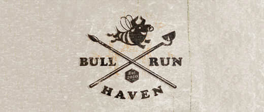 28-haven-bull-logo-designs