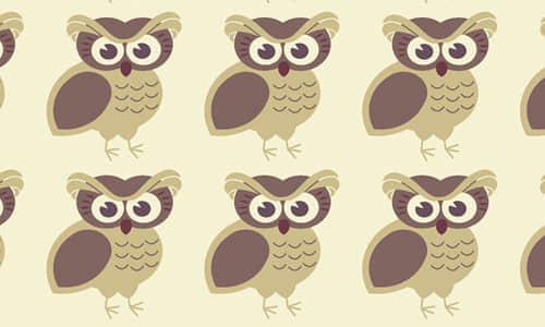 29-brown-owl-free-animal-reapet-seamless-pattern
