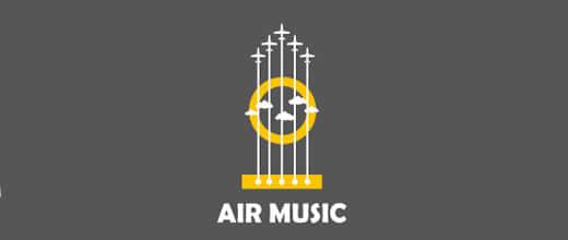 30个飞机类型logo标志设计参考
