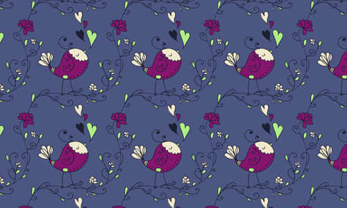 6-bird-heart-free-animal-reapet-seamless-pattern
