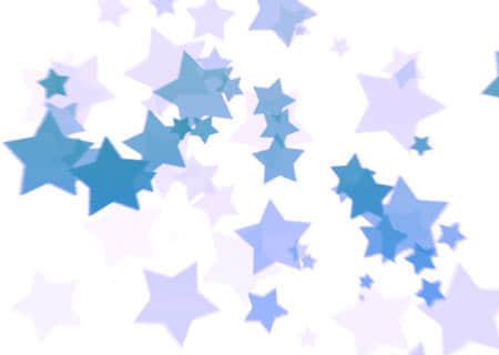 梦幻五角星背景笔刷