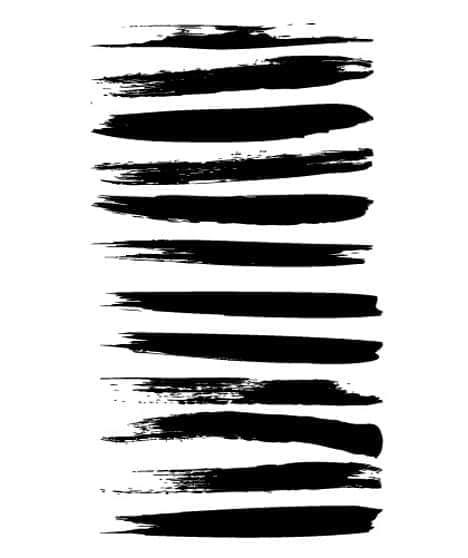 33种插画风格的画笔笔刷