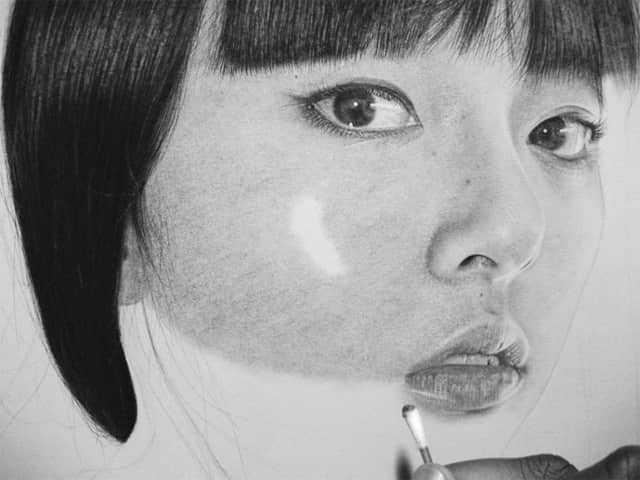 你能相信这是素描而不是照片吗?——超逼真肖像绘画!