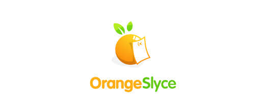 1-memo-paper-orange-logo-design
