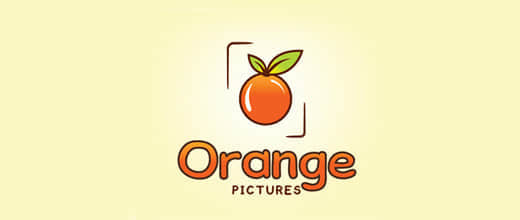 12-pictures-orange-logo-design