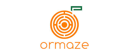 15-maze-fruit-orange-logo-design