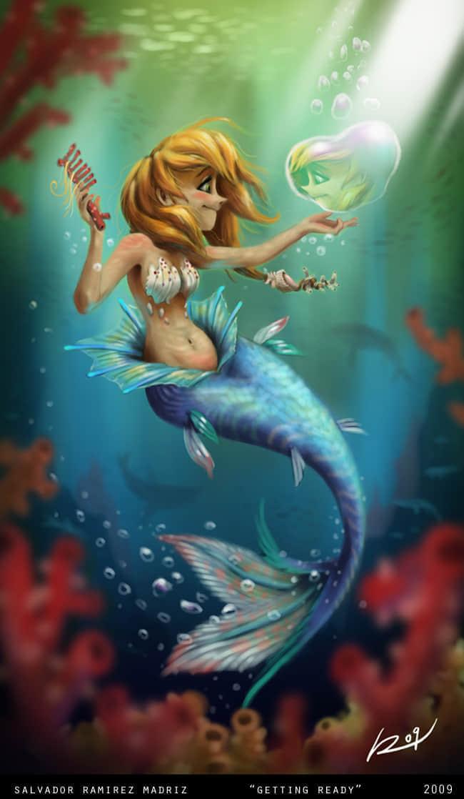 17-mermaid-digital-art-by-salvador