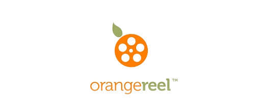 18-film-production-orange-logo-design