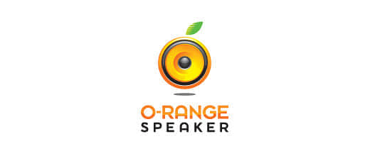 19-speaker-orange-logo-design