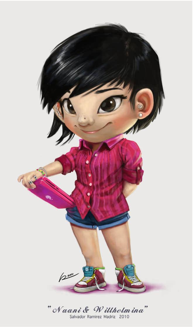 22-little-girl-digital-art-by-salvador