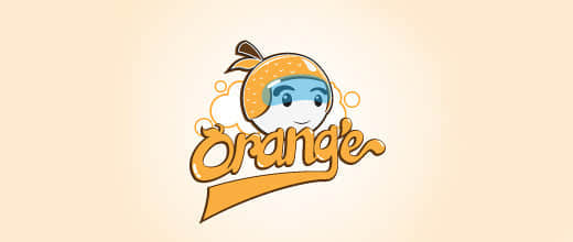 24-helmet-orange-logo-design