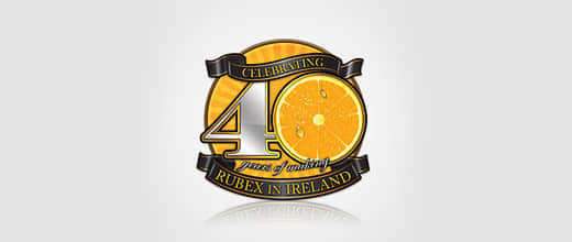 30-rubex-orange-logo-design