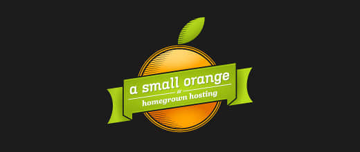 32-hosting-company-orange-logo-design