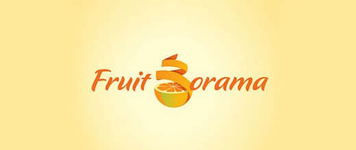 35-peeled-spiral-orange-logo-design