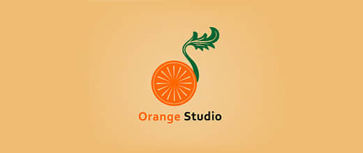 5-vintage-orange-logo-design