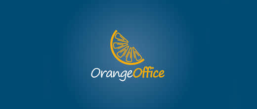 8-office-orange-logo-design
