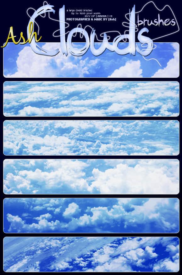 高空云朵笔刷