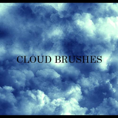 魔幻式云朵笔刷
