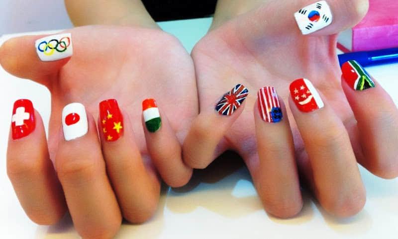 Olympic-2012-nail-art