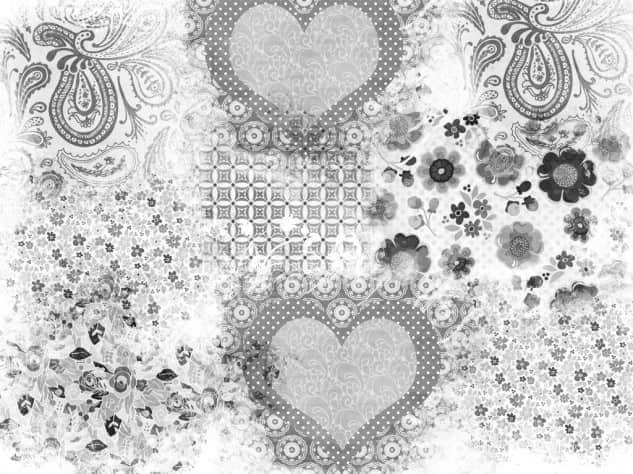 混合式花纹笔刷