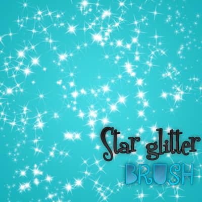 星光闪耀背景装扮笔刷