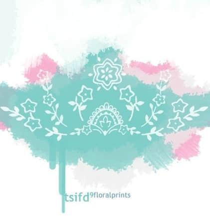 可爱的涂鸦式PS小花朵笔刷