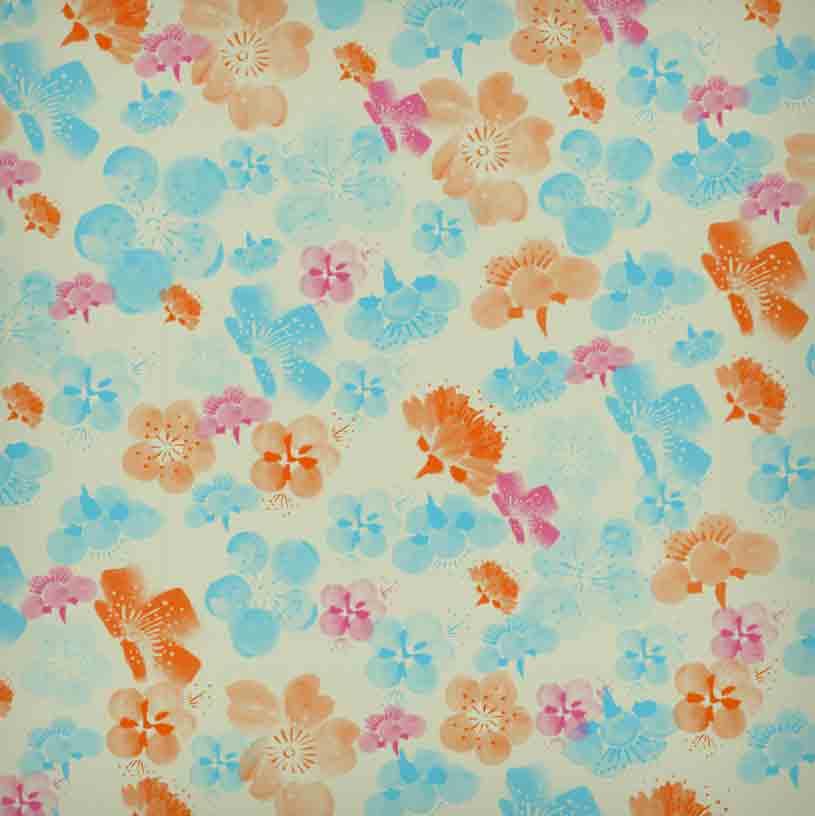 水彩水粉式樱花笔刷