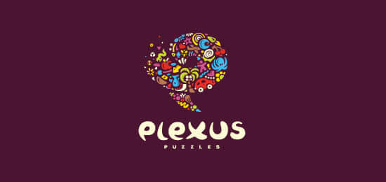 vibrant-colorful-logos-Plexus-Puzzles