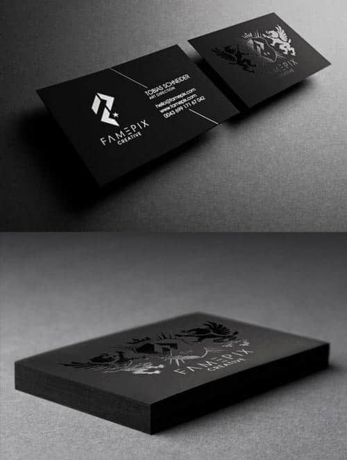 35张美丽且富有创意的名片设计