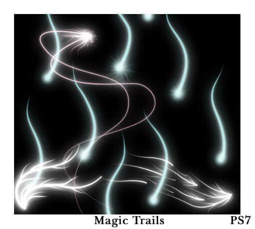 20种幻想抽象光线效果笔刷