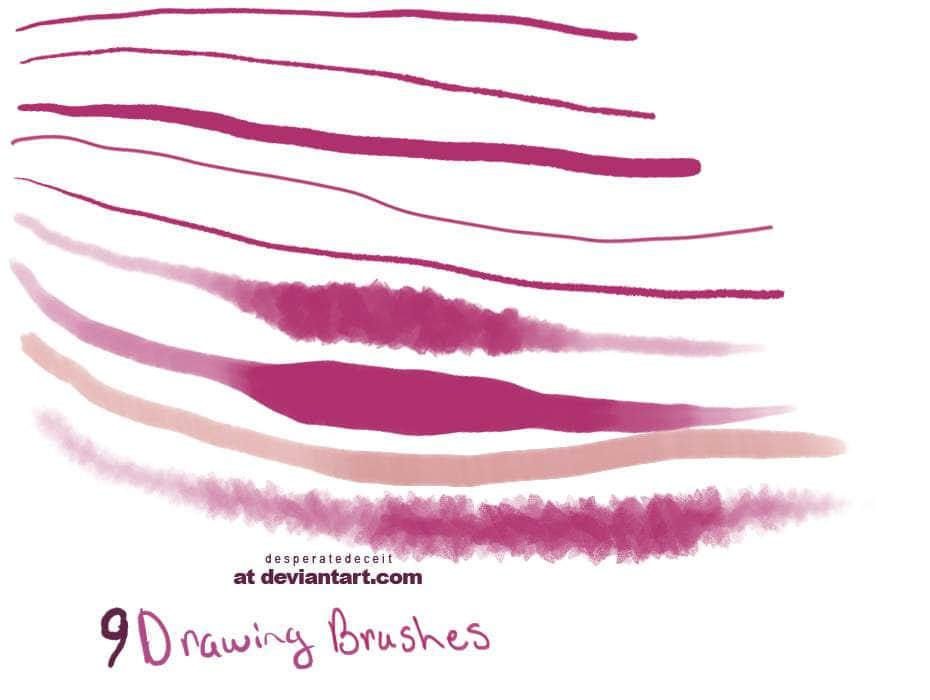 9种水雾效果画笔笔刷