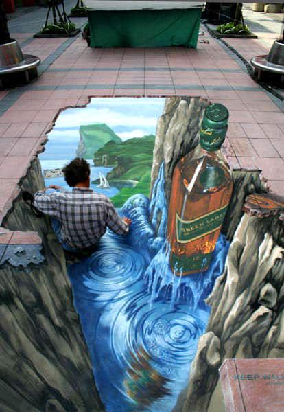 30张艺术街头3D涂鸦艺术欣赏
