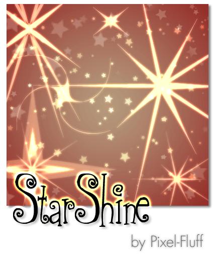 简单的星光闪耀PS笔刷