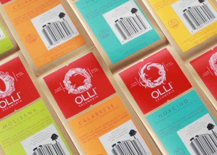 一组企业食品企业品牌VI设计参考