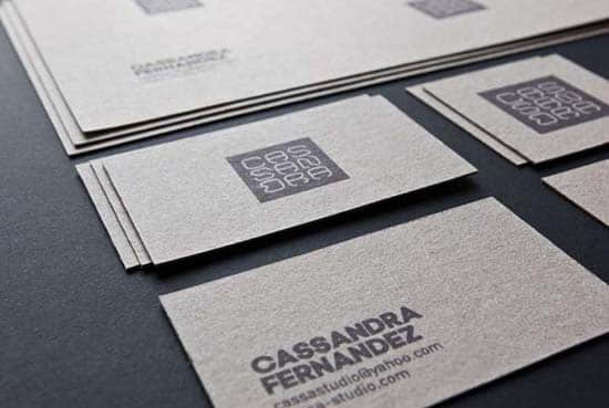 Cassa Studio business cards