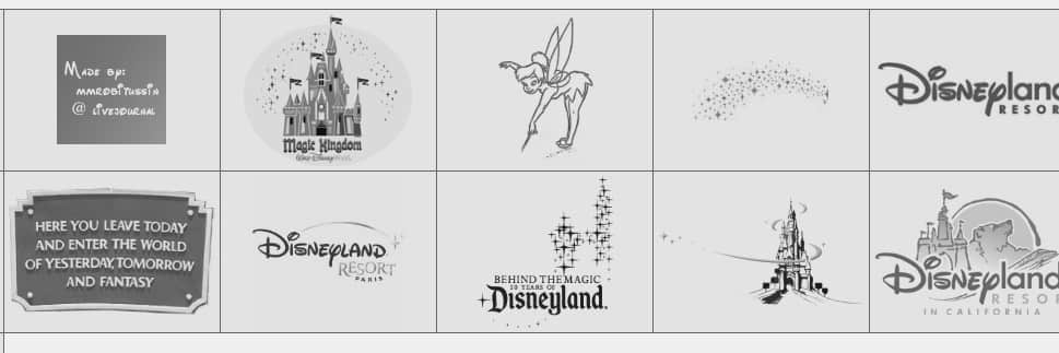 迪斯尼标志logo笔刷