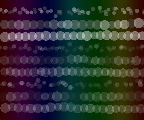 9款光斑背景虚化装饰PS笔刷